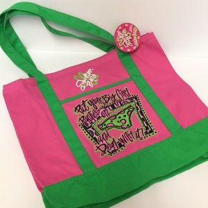 Southern Belle Cotton Tote Bag